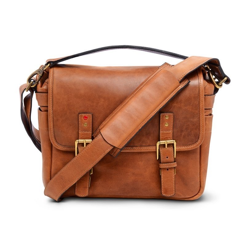 LEICA COLLECTION BY ONA, BERLIN LEATHER CAMERA BAG - VINTAGE BOURBON