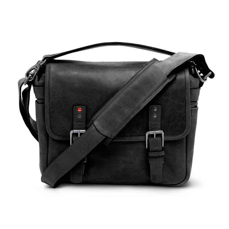 LEICA COLLECTION BY ONA, BERLIN LEATHER CAMERA BAG - BLACK