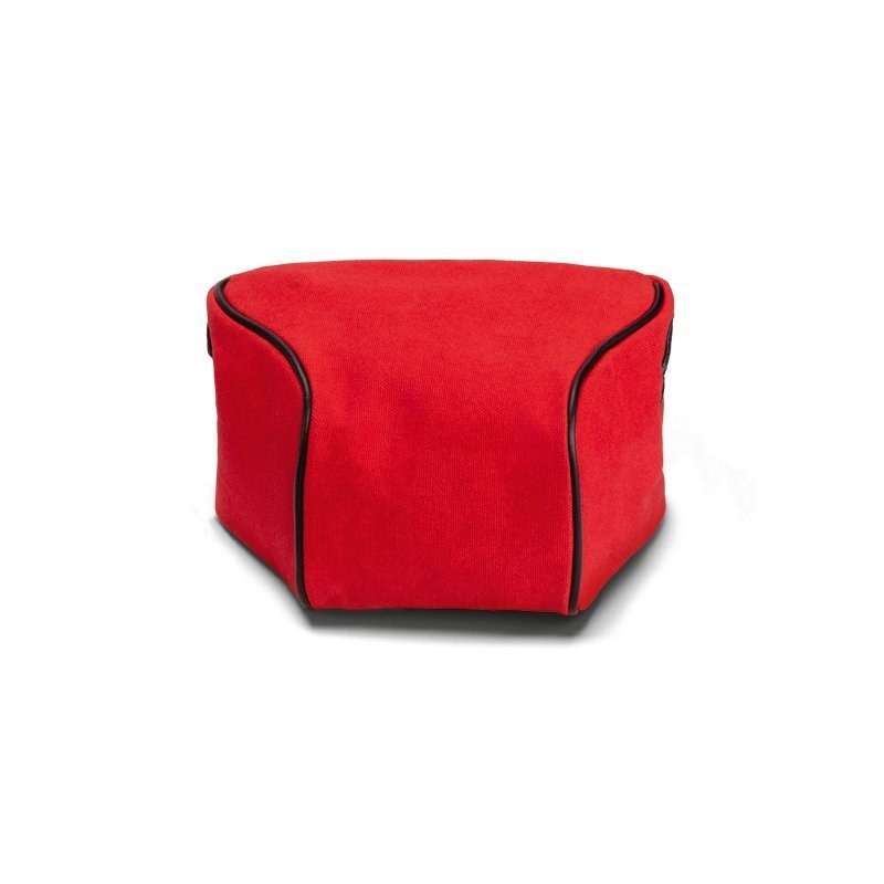 Ettas Pouch, coated Canvas, red For Q / Q2