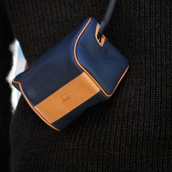 Ettas Pouch, coated Canvas,midnight blue For Q / Q2