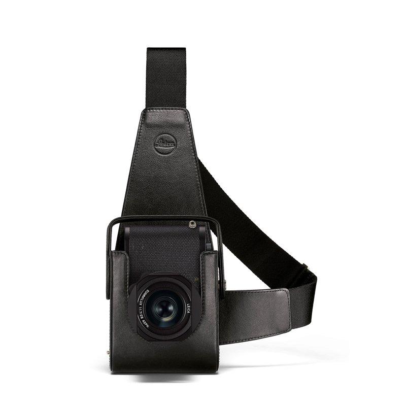 Holster-Q2, leather, black