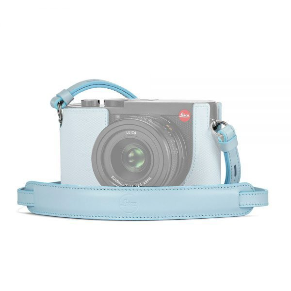 LEICA Q2 CARRYING STRAP, BABY BLUE - LIMITED EDITION