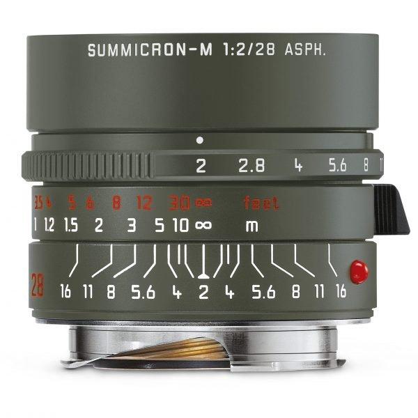 "LEICA SUMMICRON-M 28 F/2 ASPH. EDITION ""SAFARI"""