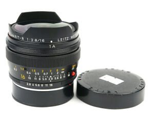 LEICA FISHEYE-ELMARIT-R 16mm F/2.8 (PRE-LOVED)