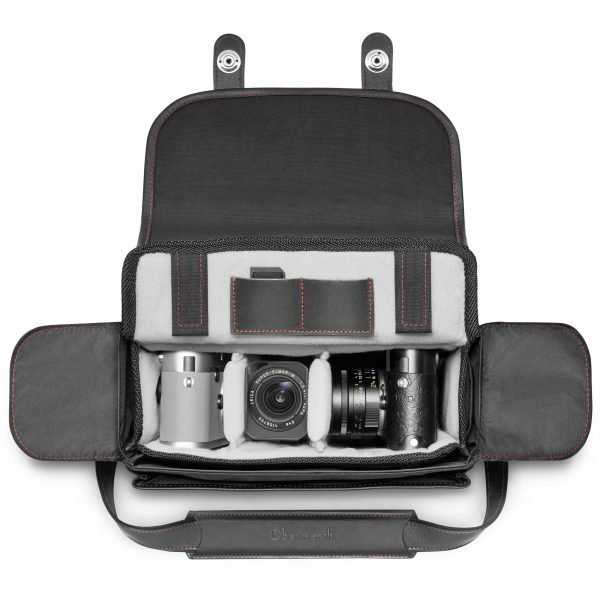 OBERWERTH FOR LEICA - LIMITED EDITION SYSTEM CASE - LEATHER/CORDURA BLACK