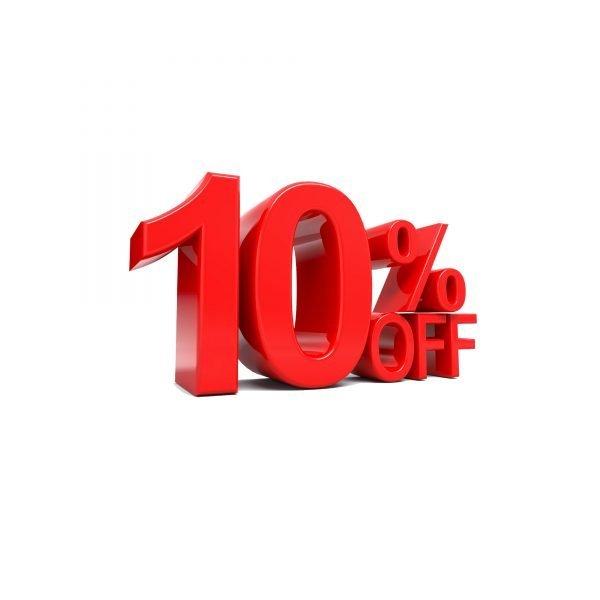 10% Coupon for Premium Printing