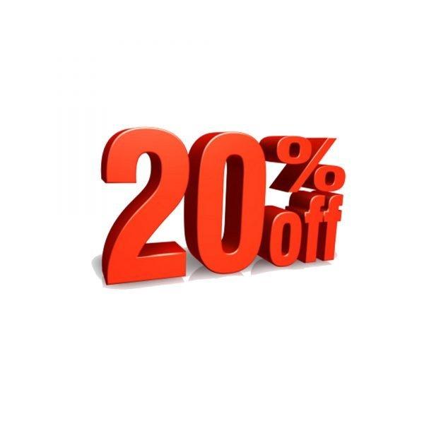 20% Coupon Premium Printing