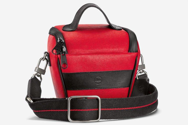 LEICA ETTAS BAG RED, BLACK (FOR V-LUX, CL, TL2, Q2 & M)