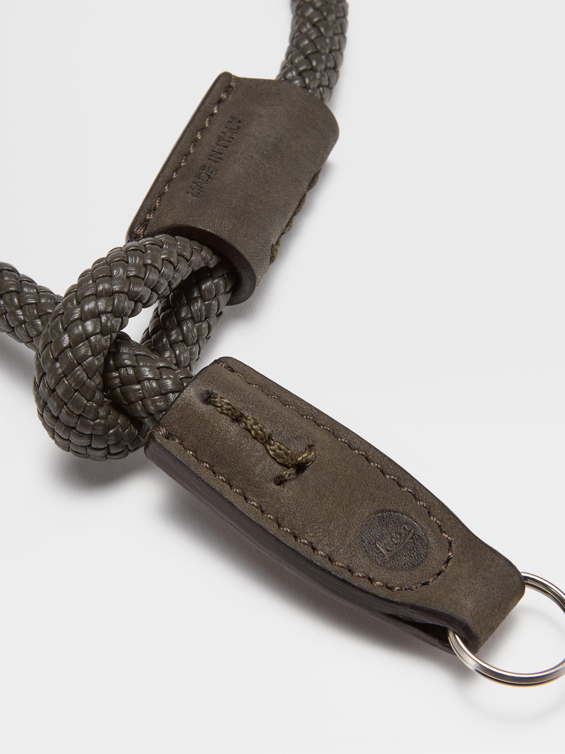 LEICA | ZEGNA Wrist Strap, Loden