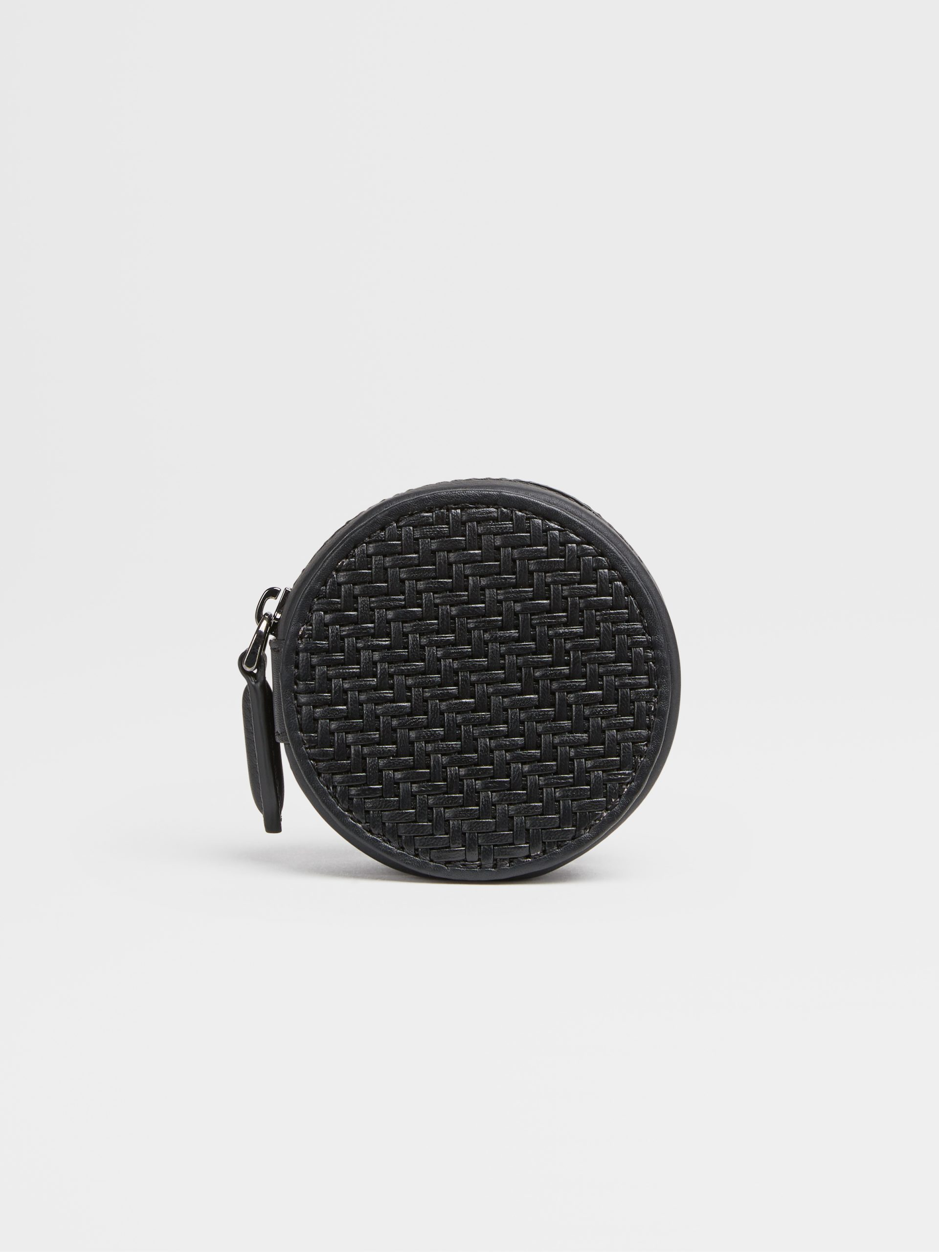 LEICA | ZEGNA Round Wallet