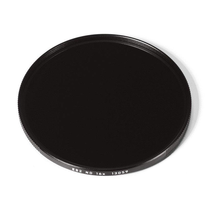 LEICA E82 ND 4-STOP 16X FILTER, BLACK